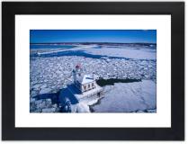 Oswego Lighthouse Winter 2016