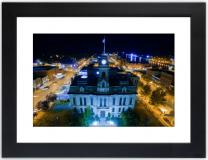 Oswego City Hall at Night