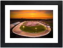 Oswego Speedway at Twilight