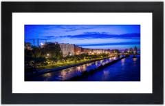 Westside River Bank at Twilight