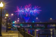 Warm Up Oswego Fireworks