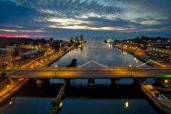 Oswego River Twilight
