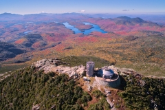 Autumn on top of Whiteface Mountain