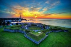 Fort Ontario Sunset