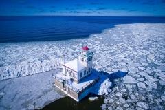 West Pierhead Lighthouse Winter 2016 View 2