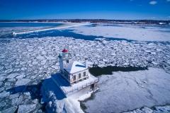 West Pierhead Lighthouse Winter 2016