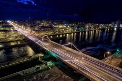Oswego Bridge Lights 2015