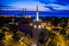 St Mary's at Twilight