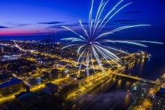 Warm Up Oswego Fireworks 2016