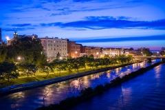 Westside River Bank - Twilight